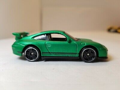 Hot Wheels Porsche 911 GT3 RS Satin Green 2017 Multipack Exclusive LOOSE READ