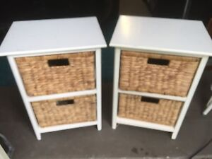 Pair of Bedside tables Monterey Rockdale Area Preview