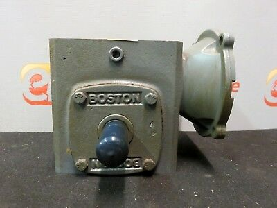 Boston Gear Motor 1.25 Hp F72120b5g Gear Box Motor Reducer