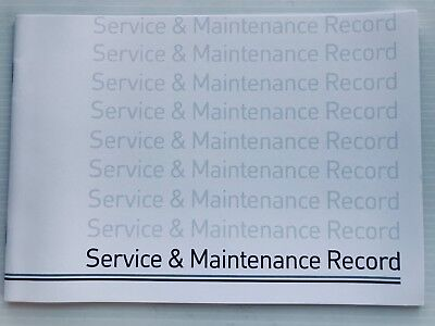 HONDA Service Book  New Unstamped History Maintenance Record - Blank