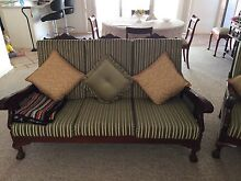 1960 hand carved sofa and chairs Adamstown Newcastle Area Preview