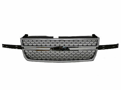 For 2006 2007 Chevy Silverado 1500 Truck Front Grille Grill Car Heavy Duty