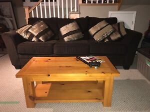 Beautiful and Huge couch - minor damage to arms