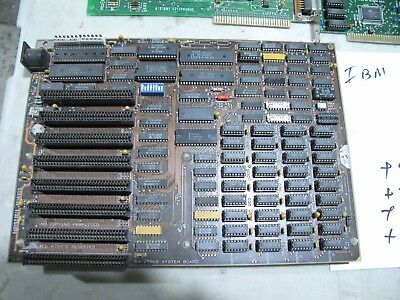 55X9504 IBM PC OR XT System Board + EXTRAS, used for sale  Granada Hills