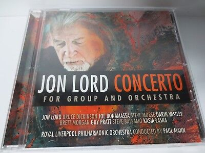 JON LORD ~ CONCERTO FOR GROUP AND ORCHESTRA ~ 2012 LIKE NEW