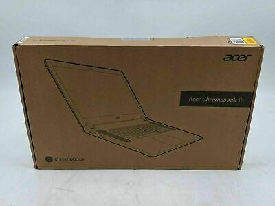 New Acer Chromebook 15 Intel Atom 4GB DDR3 Chrome OS 16GB eMMC -AS0583
