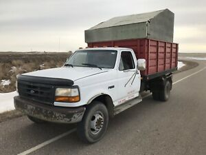 1994 Ford F-Superduty Dump Truck Grain Box