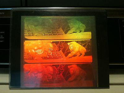 SPIDERMAN vs. VENOM * UNCUT SHEET * comprised of 6 Polaroid Clear-Cel Holograms