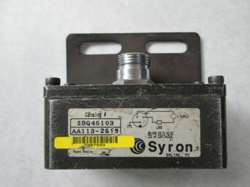 Syron SBQ45103 Bar Sensor (20-148 Volts)
