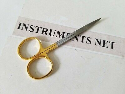 Tc Iris Scissors 4.5 Curved Surgical Dental Instruments