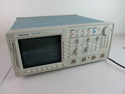 Tektronix Tds 680b Color 2 Ch Oscilloscope 500mhz 1gss Opt 13 1f 2f