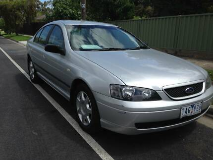 2004 Ford Falcon Sedan WITH RWC AND 1YEAR WARRANTY Coburg Moreland Area Preview