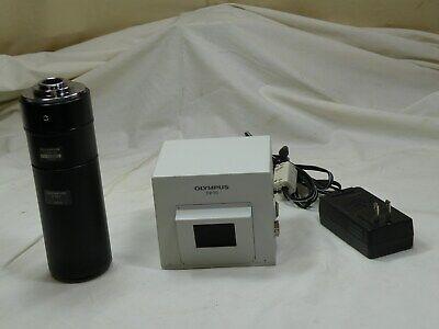 Olympus Dp10 Microscope Camera W U-pmtvc U-spt Pe 2.5x Ac Adapter