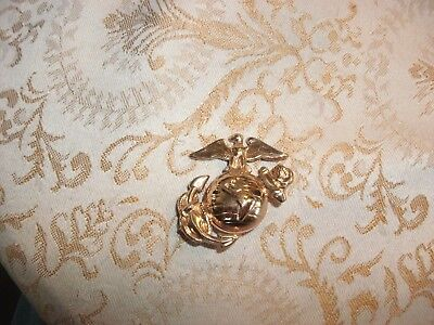 15#B   United States Marine Corp - Brass Enlisted Men's Cover Eagle