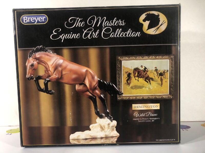 Breyer Horse The Masters Equine Art Wild Bronc  #8264 NIB