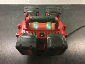 Milwaukee 6 Pack Charger and Batteries