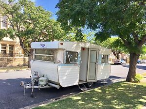 VISCOUNT CARAVAN 1972 vintage retro restored Semaphore Port Adelaide Area Preview