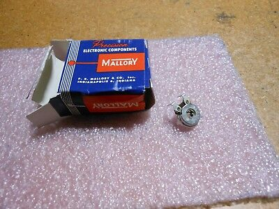 Mallory Variable Resistor 5 Pc Lot Mtc12l4 Nsn 5905-00-927-7102 100 Ohm