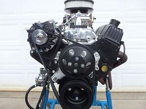 CHEVY 383 TURN KEY  ROLLER STROKER ENGINE BLACK THUNDER SERIES BY CRICKET