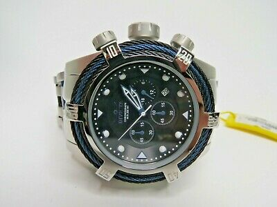 Invicta Bolt Zeus Chronograph Watch Black Dial 53mm 23048