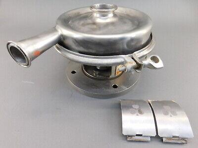 Tri-clover Alfa Laval 638146.01 2 X1.5 Stainless Pump 5.5 Imp Sanitary 4 ...
