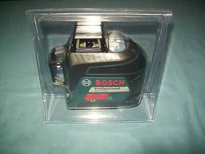 New Bosch Gll3-300 200 Ft. Self Leveling 3 Plane Cross Line Laser Level
