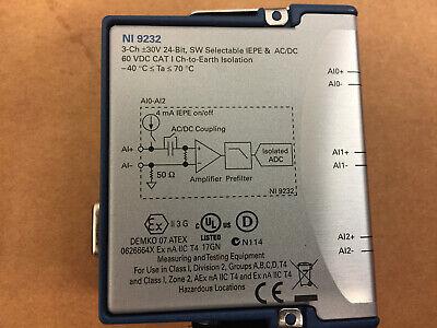 National Instruments Ni 9232 Cdaq Sound And Vibration Input Module