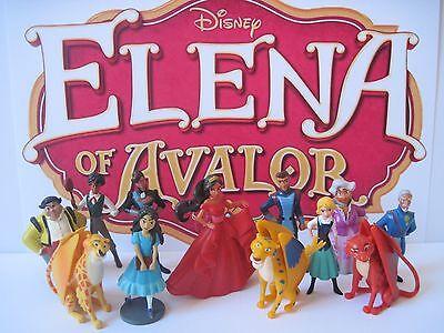 Disney Elena Of Avalor 12 Pc Figure Play Set Isabel Naomi Mateo Skylar Migs Luna