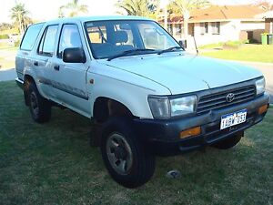 1995 Toyota 4 Runner Wagon Forerunner 4x4 Surf Beaconsfield Fremantle Area Preview