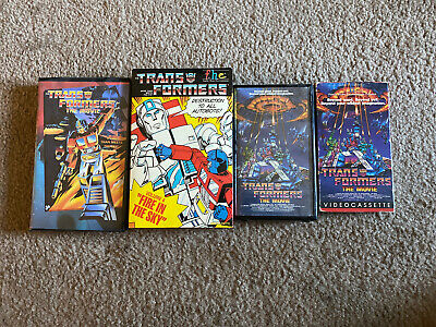 Transformers Vhs Lot Animated Movie