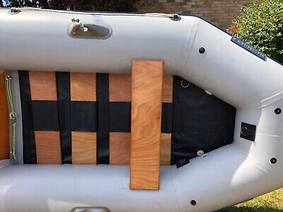 Seago 260S inflatable Dinghy boat used.Oars and pump included .