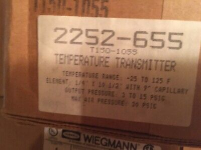 Temperature Transmitter 2252-655 T150-1055