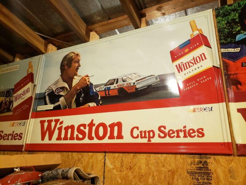 Winston Metal Cup Series Sign 1981