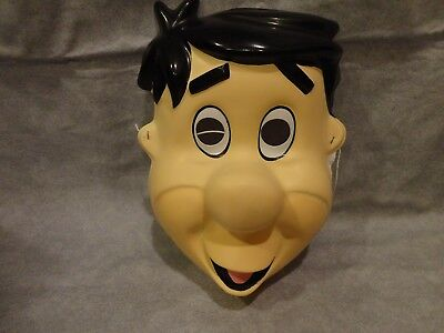 FLINTSTONES FRED MASK HALLOWEEN MASK PVC CHILD SIZE