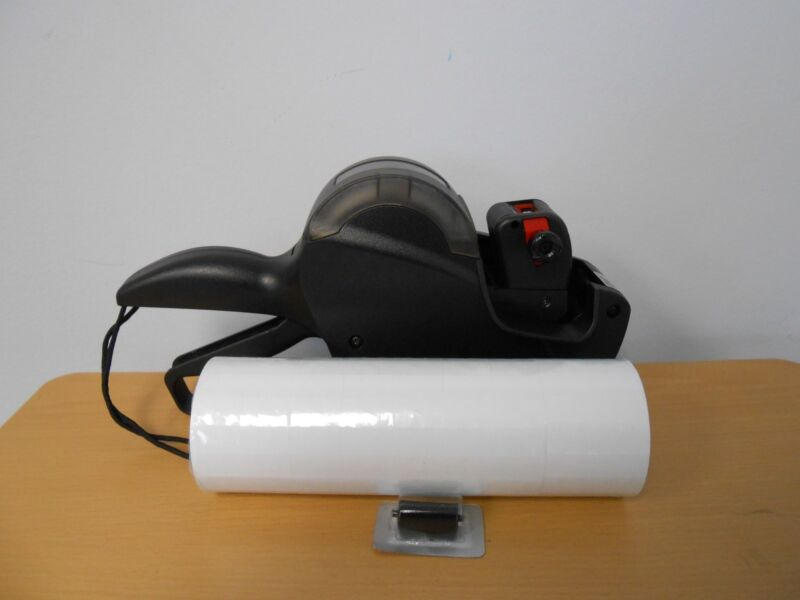 Contact/G.1 Line 18.7 Price Labeler , uses Garvey 1812 labels and ink rollers