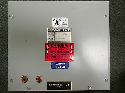 Aerovox Capacitor Assembly Ims1005f33l 5kvar 480vac 60hz 3ph Used