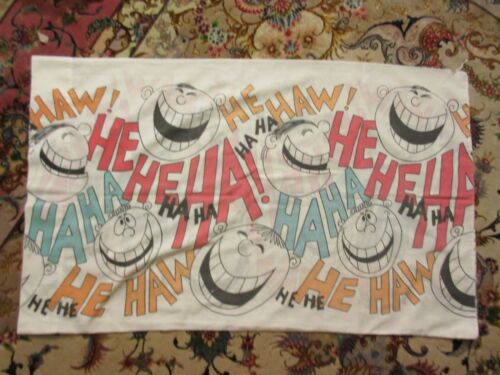 Vintage Cannon Monticello Laugh Laughter Pillowcase Standard Size see descriptio