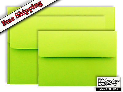 Neon Green Envelopes for Announcements Invitations Showers Enclosure A1 A2 A6 A7](Neon Invitations)