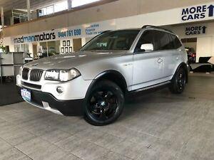 2008 BMW X3 E83 Wagon 5dr Steptronic 6sp 4WD 2.0DT [MY07] Silver Sports Automatic Wagon