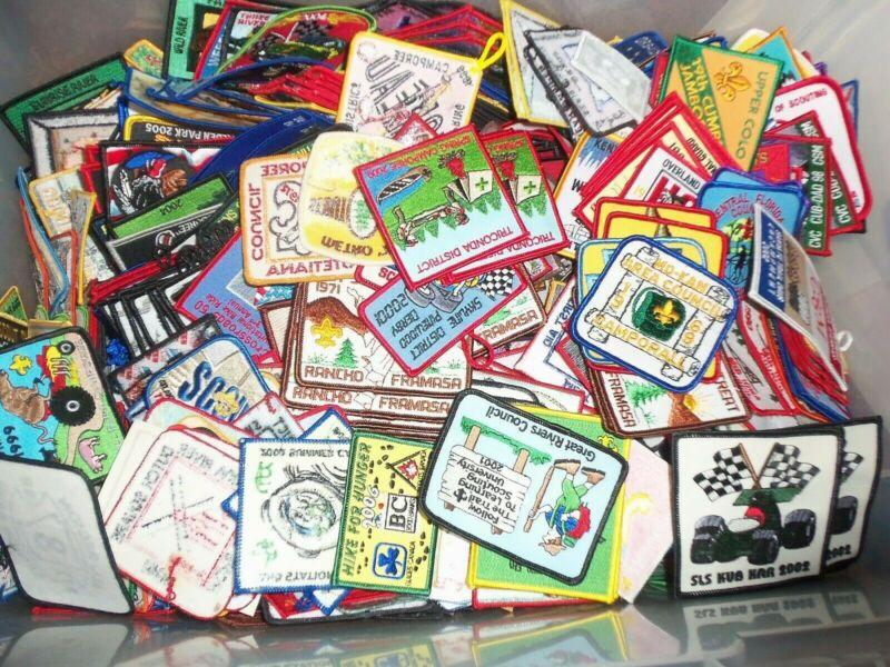 100 Different Boy Scout Activity patches
