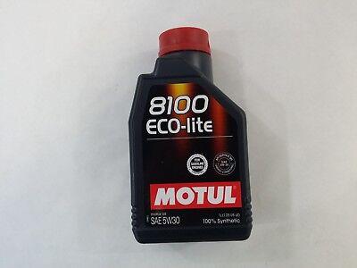 108212 Motul 8100 ECO-lite 5W30 100% Synthetic Performance Engine Oil (1 Liter), usado comprar usado  Enviando para Brazil