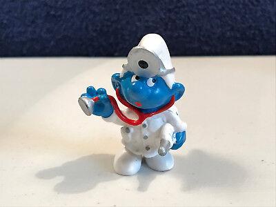 Smurfs 20715 Producer Smurf Megaphone Vintage Movie Toy Figure Film PVC Figurine