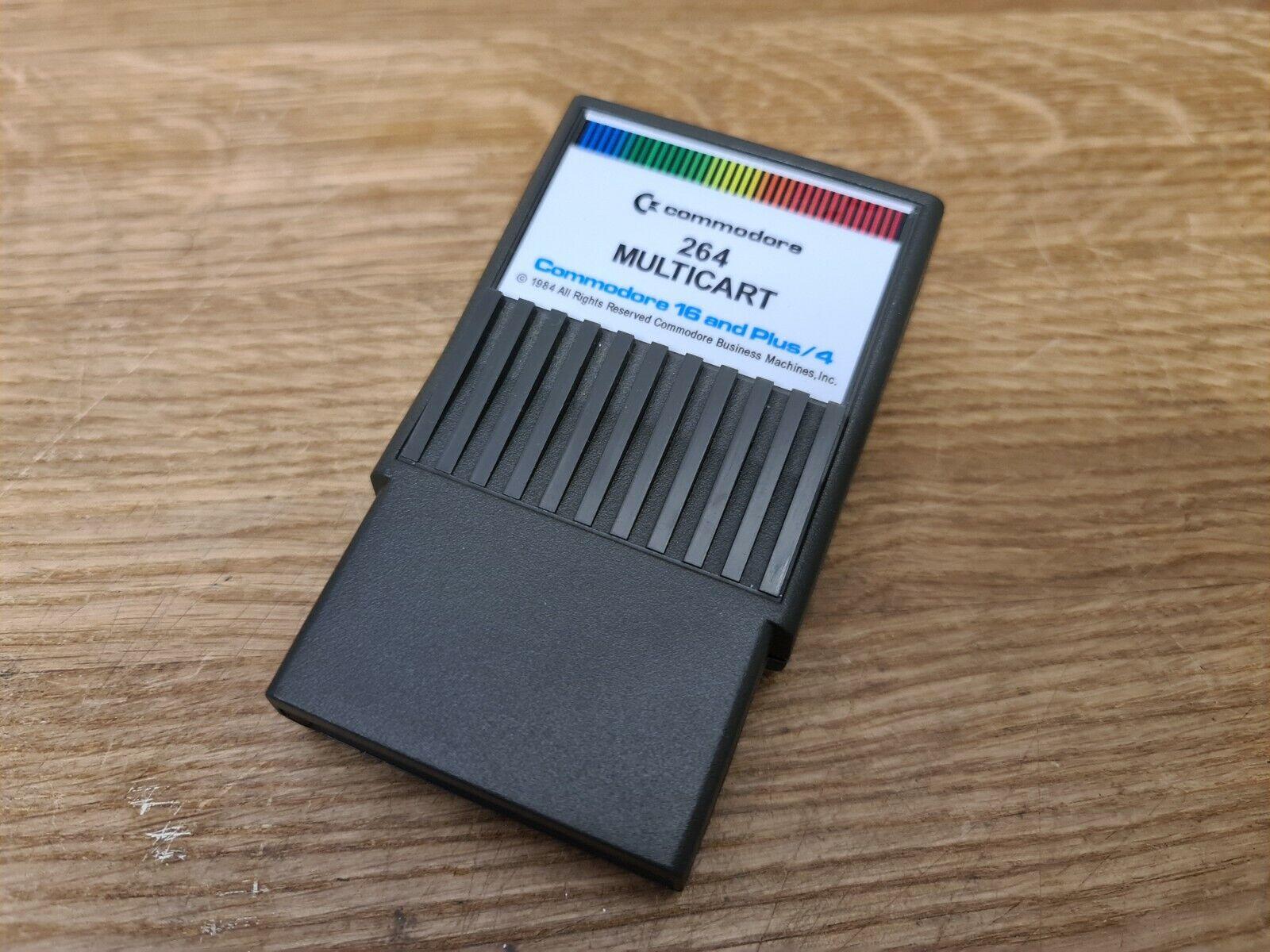 |Commodore 16, Plus / 4 & 116 Multi game cartridge…