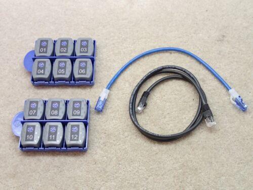 Ideal 1-12 Remote Set for VDV II 158050