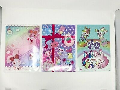 Ibloom Character Pocket Files Folders