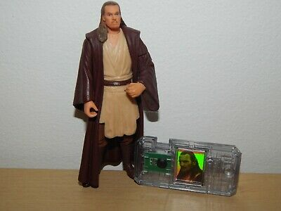 "STAR WARS QUI-GON JINN 3.75"" ACTION FIGURE #A"