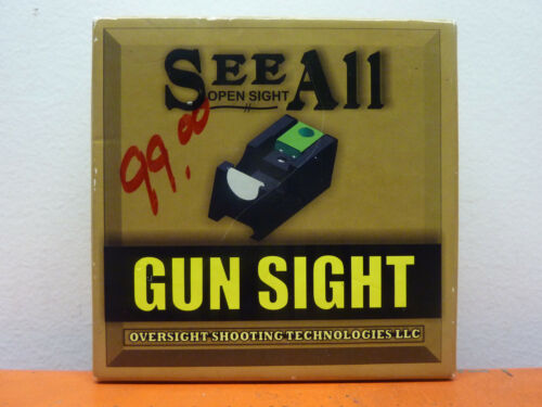Oversight See All Open Sight, M2 Magnified Open Delta Triangular Sight