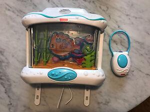 Aquarium Fisher Price valeur 50$