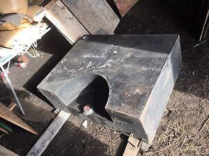 Sled deck Built slip tank.