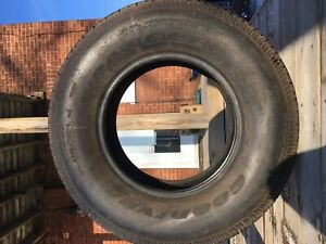 two jeep tires, 245/75R16